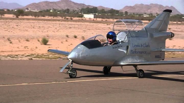 Dünyanın en küçük jeti: FLS Microjet