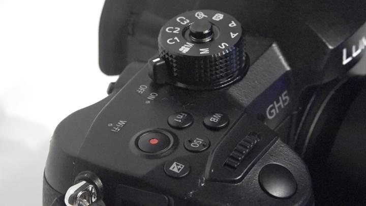 Panasonic GH5 kamera ön inceleme '4K 60p video kaydı'