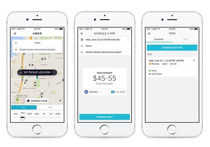 Uber'in rezervasyon özelliği İstanbul'da başladı