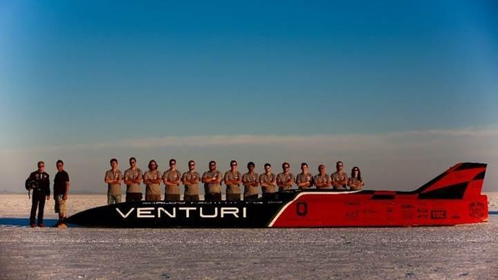 Karşınızda Dünya'nın en hızlı elektrikli aracı: Venturi VBB-3