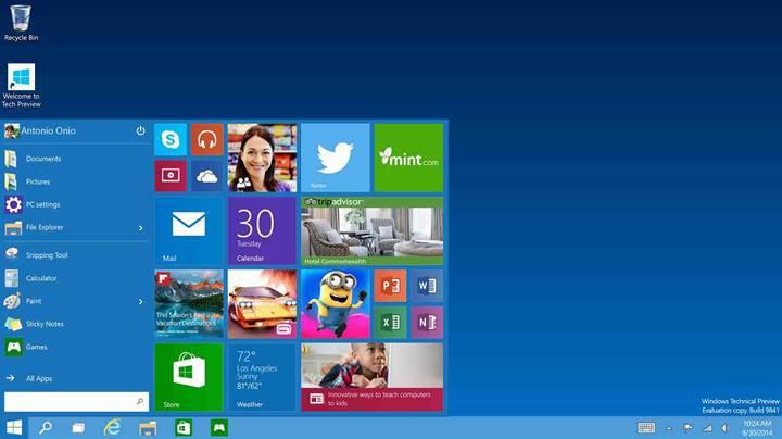 Windows 10 kullanıcı sayısı 400 milyonu aştı