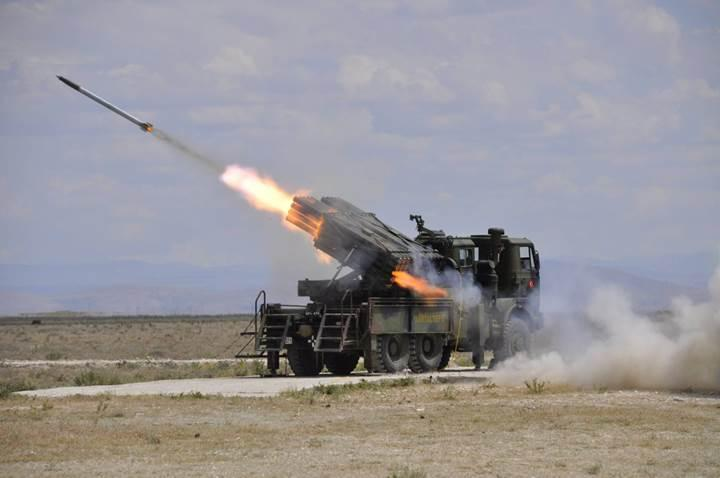 Roketsan, Azerbaycan'a güdümlü topçu roketi satmaya başladı