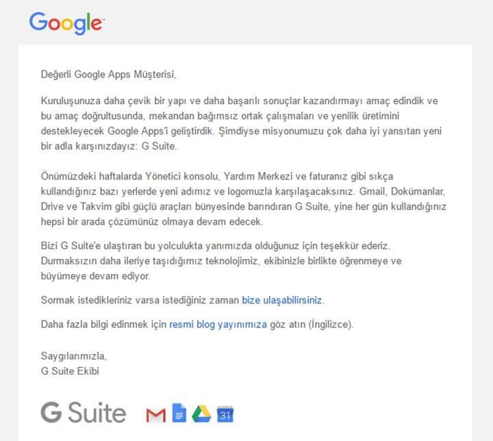 Yenilenen Google Apps artık