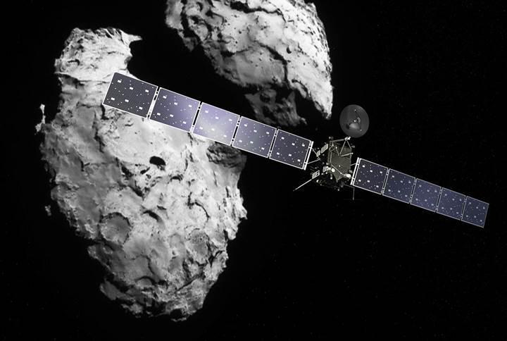 Uzay aracı Rosetta kuyruklu yıldıza çarparak veda etti
