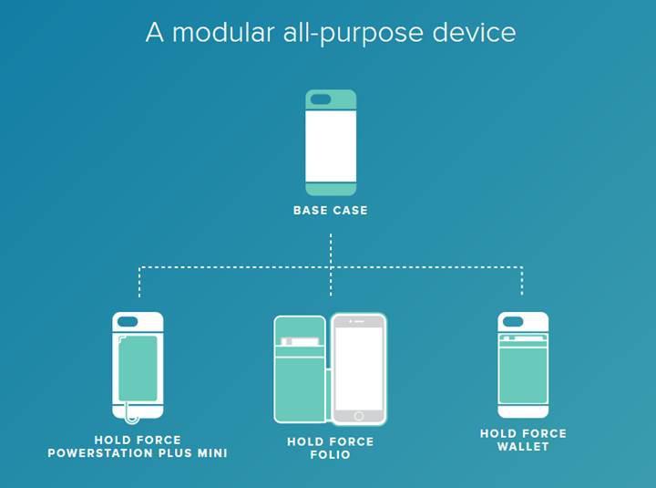 Mophie'den iPhone 7 için modüler kılıf