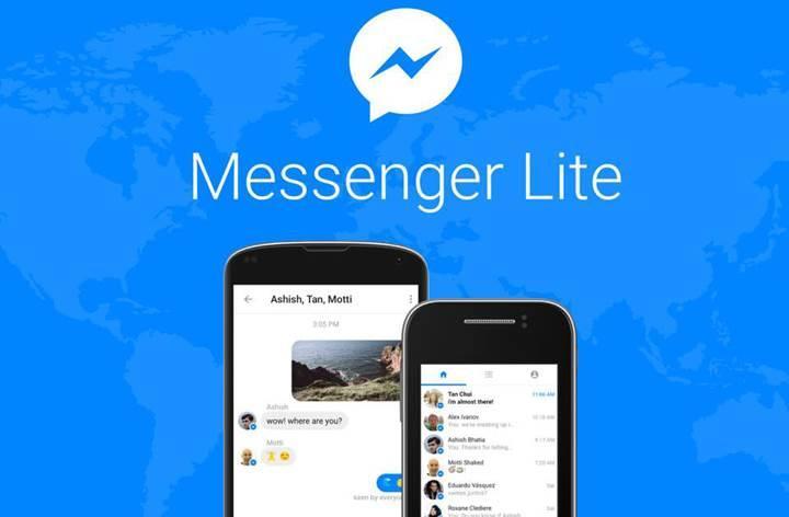 Facebook Messenger Lite kullanıma sunuluyor