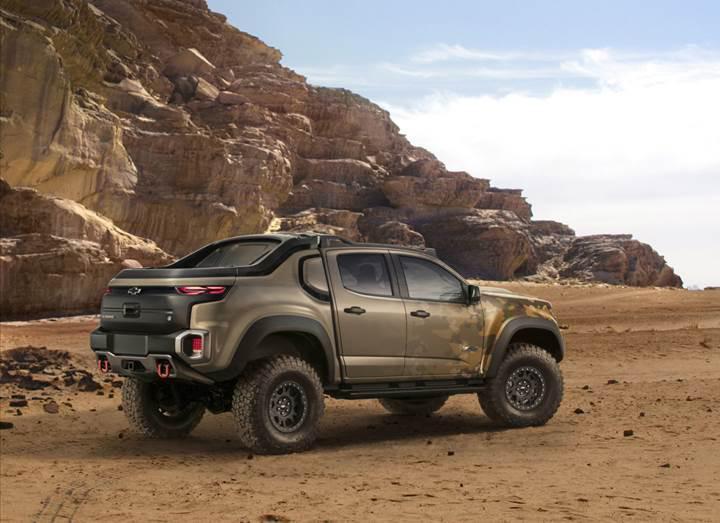 GM, ABD ordusu ile ortak olarak hidrojen yakıt hücreli bir pick-up geliştirdi