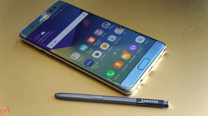 Samsung hatalı Note 7'leri taşıyabilmek için tehlikeli madde izni aldı