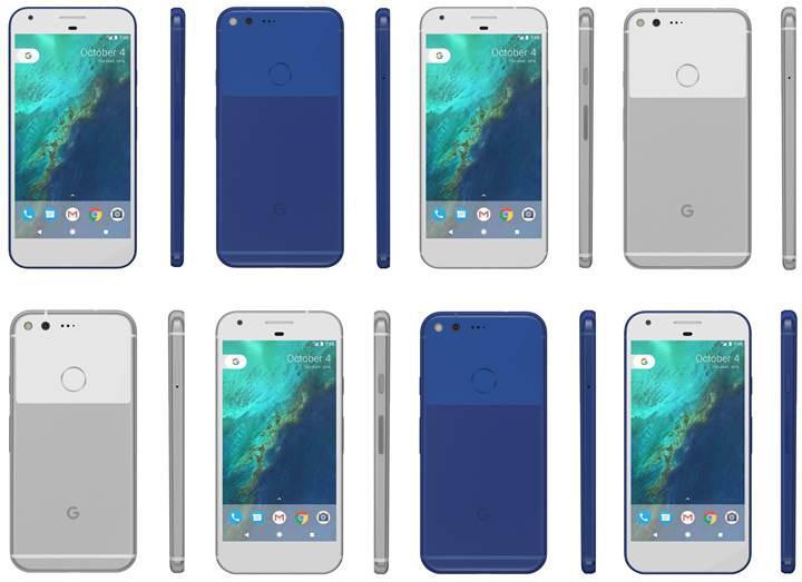 Google Pixel: Yeni telefonlara merhaba deyin