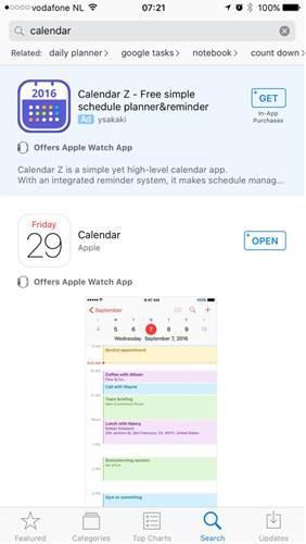 Apple, AppStore'da reklam göstermeye başladı