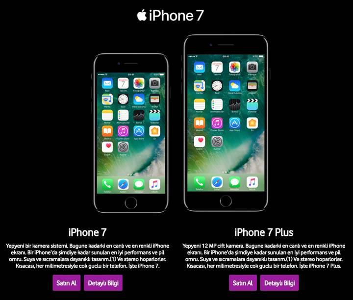 Vodafone da iPhone 7 satışlarına başladı