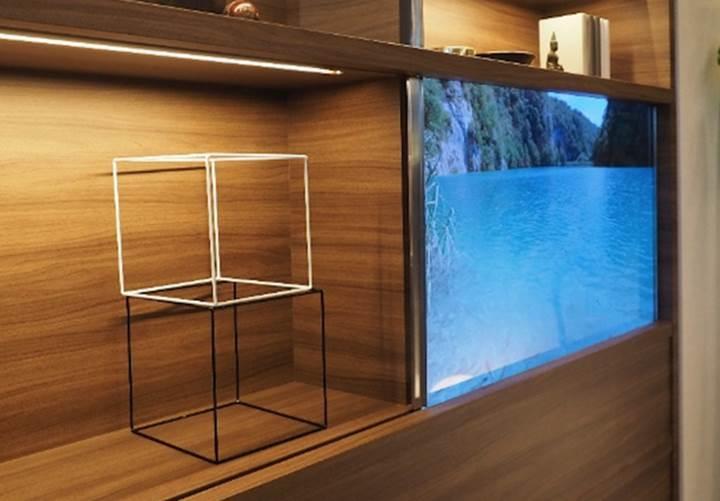 Panasonic tamamen şeffaf bir televizyon prototipi geliştirdi