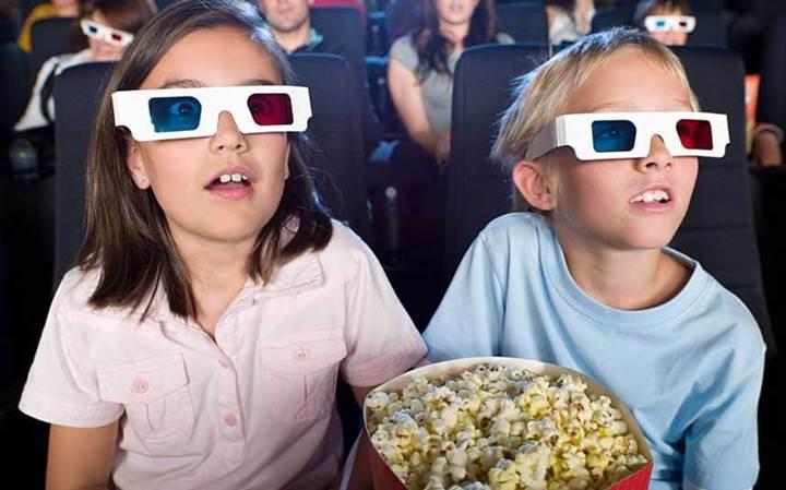 3D film izlemek çocukların konsantrasyonunu ve kavrama gücünü arttırıyor