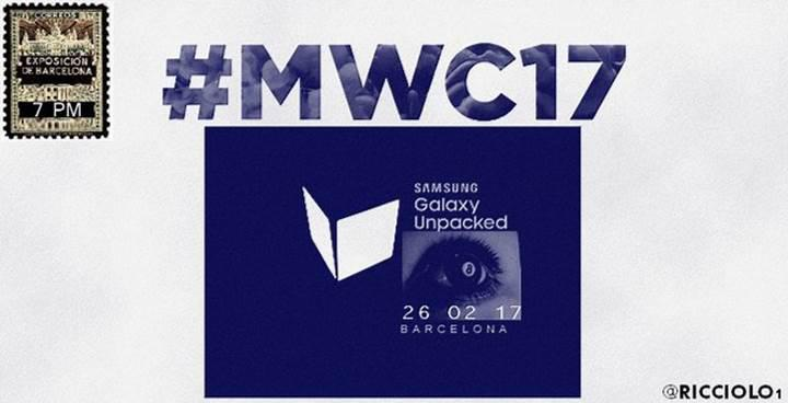 Samsung Galaxy S8 davetiyesi sızdırıldı iddiası