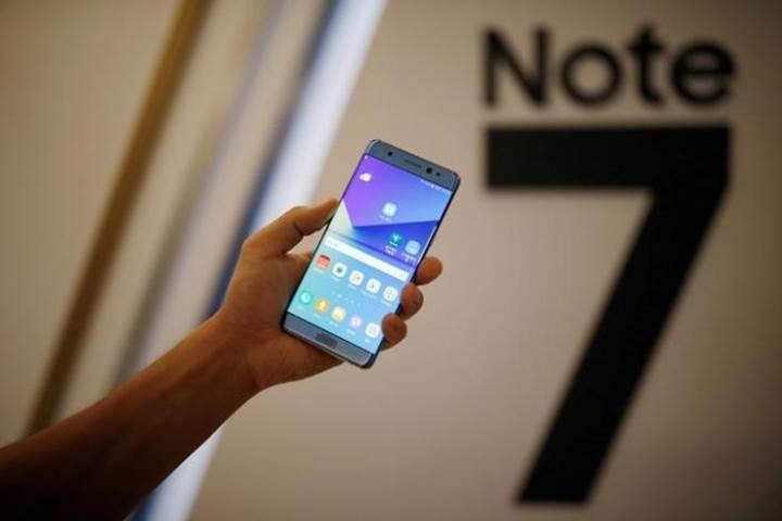 Samsung Galaxy Note 7 satışları yeniden yasaklanıyor