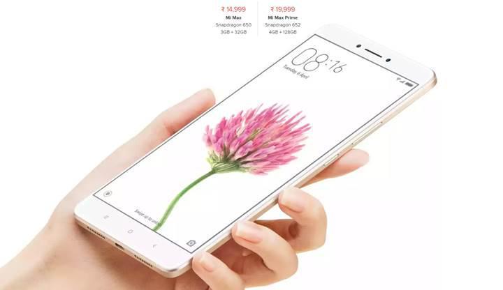 Xiaomi Mi Max Prime zamanı