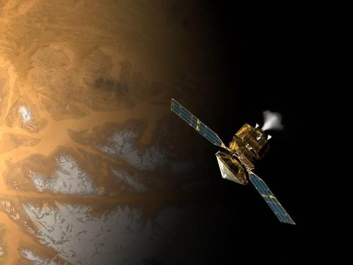Hindistan'ın Mars'taki uzay aracından inanılmaz fotoğraflar
