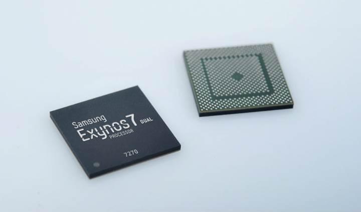 Samsung giyilebilir cihaz sektörünün ilk 14nm yonga setini üretmeye başlıyor