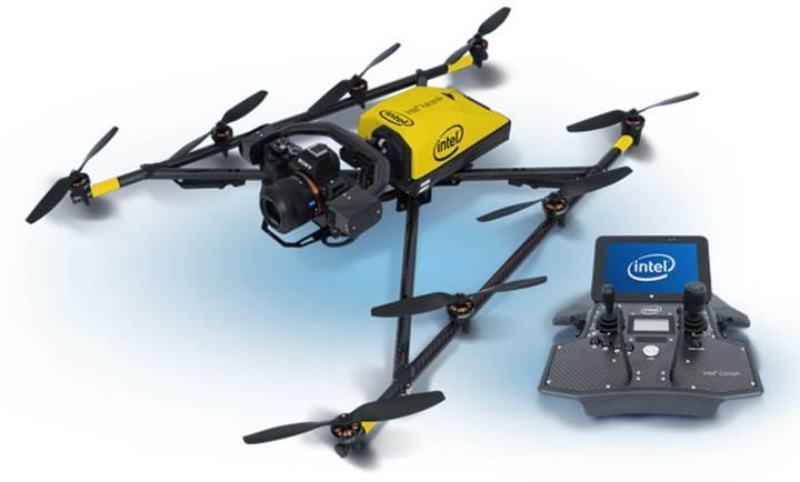 Intel ilk Drone modelini göklere uçuruyor