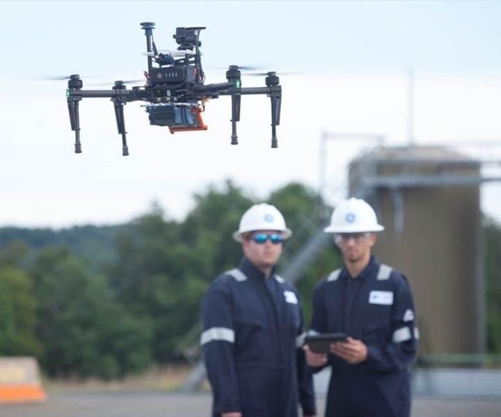 General Electric'den gaz sızıntılarını denetleyebilen drone