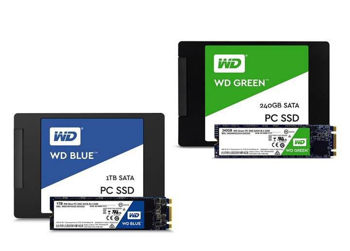 Western Digital'den kendi markasını taşıyan ilk SATA SSD ürünleri