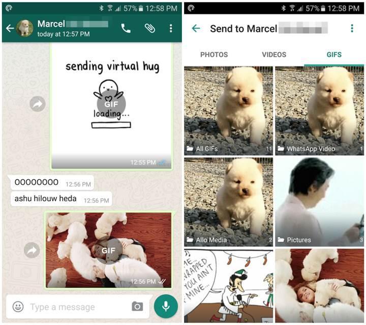 Whatsapp'a çok yakında GIF desteği ekleniyor