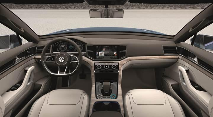 Volkswagen yeni crossover modeline 'Atlas' ismini verdi