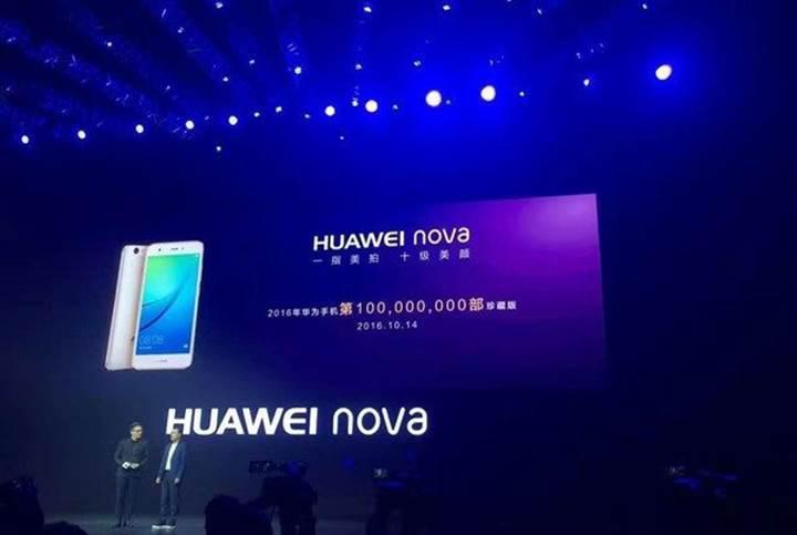 Huawei, 100 milyon akıllı telefon sattı