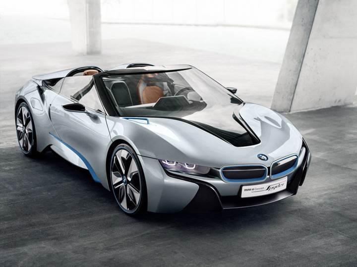 Üstü açık BMW i8 Spyder 2018 yılında geliyor