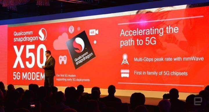 Dünyanın ilk 5G modemi Qualcomm'dan geliyor