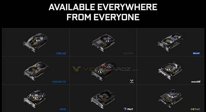 Nvidia GeForce GTX 1050 serisi agresif bir fiyata sahip