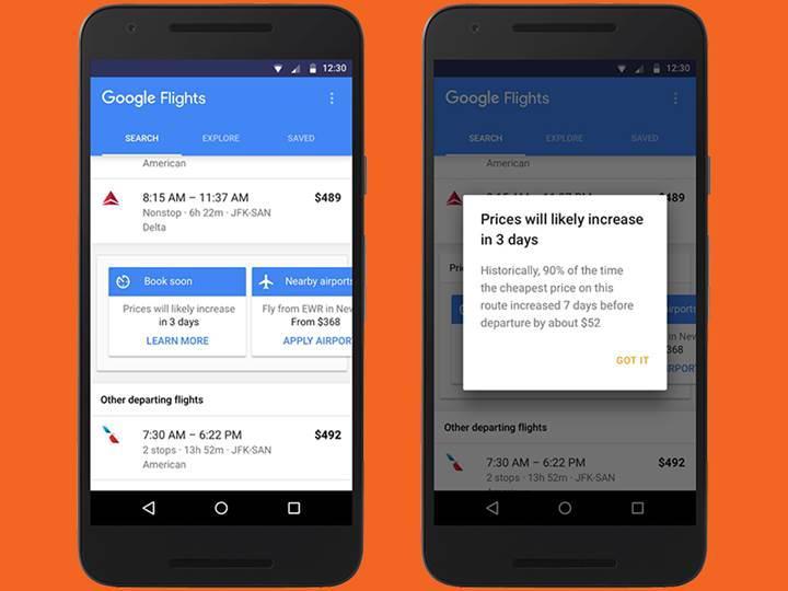 Google Flights ile uçak biletinizi artık daha ucuza satın alabileceksiniz