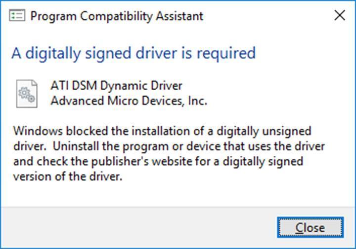 Microsoft bütün driverlar için WHQL sertifikasını zorunlu hale getirdi