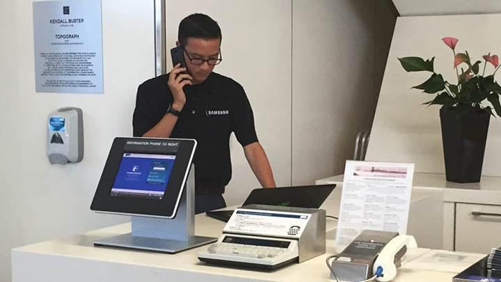 Havalimanlarına Galaxy Note 7 değişim noktaları kuruldu [Güncellendi]
