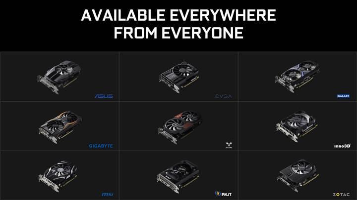 Nvidia GeForce GTX 1050 serisi tanıtıldı: İlk kez 14nm süreci
