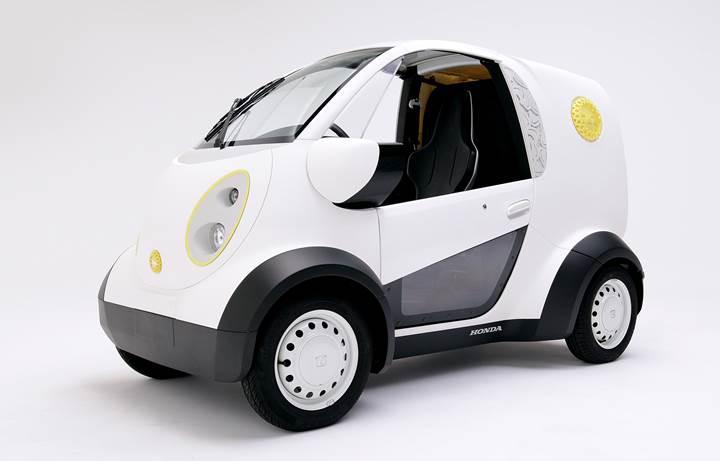 Honda'dan 3 boyutlu yazıcı ile üretilmiş mikro otomobil