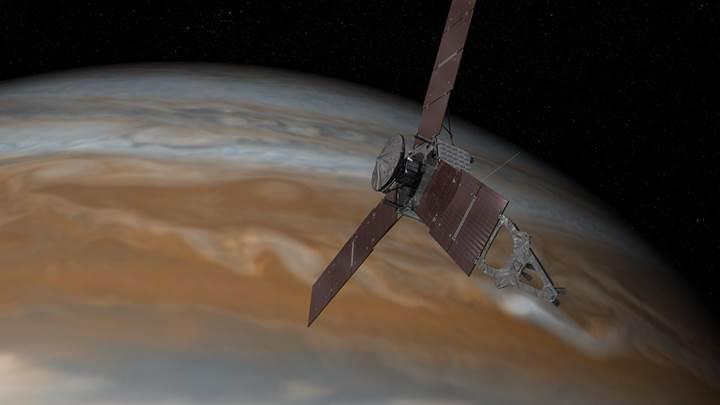 Juno'nun motorlarındaki problem yörünge değişimine engel oldu