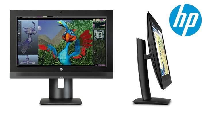 HP Z1 iş istasyonu güncellendi