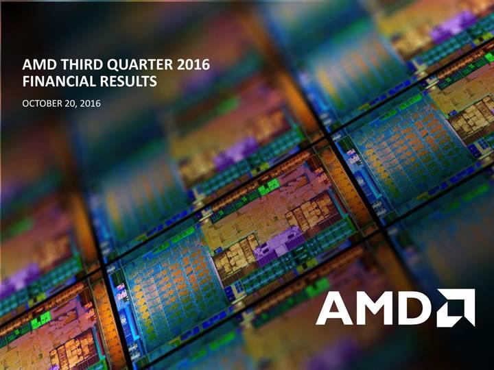 AMD üçüncü çeyrekte beklentileri aştı