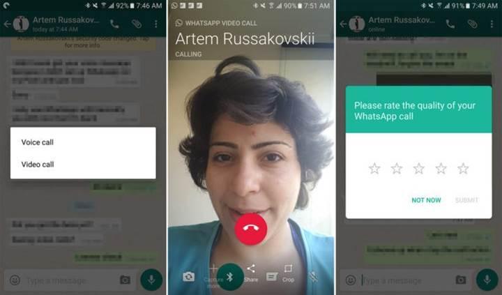 WhatsApp'a video arama özelliği geliyor