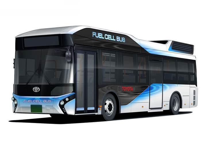 Toyota'nın yeni hidrojen yakıtlı otobüsleri gerektiğinde acil güç kaynağı olabiliyor