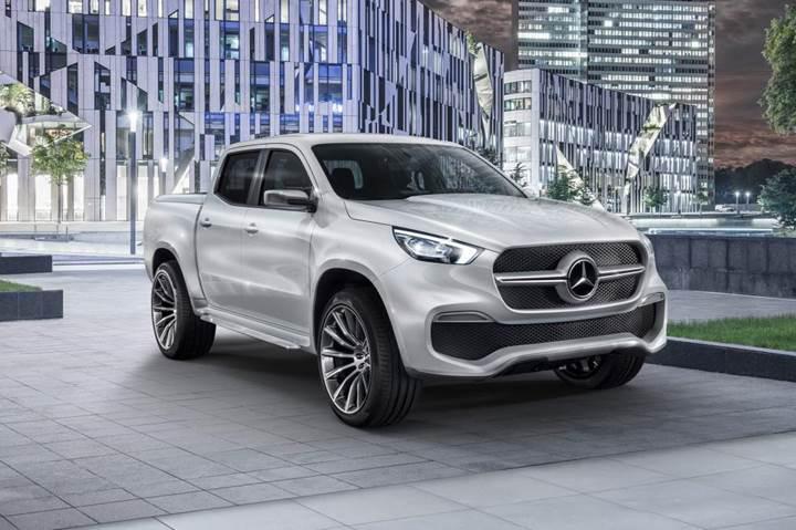 Mercedes'ten görüntüsü ile büyüleyen pick-up: X Class