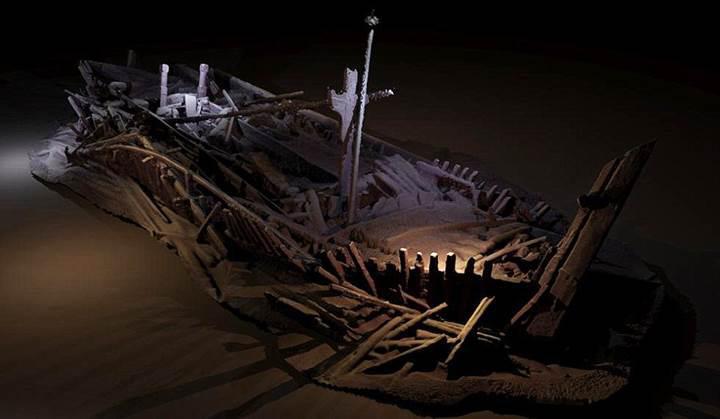 Karadeniz'de 40 adet bozulmamış Osmanlı ve Bizans gemisi bulundu