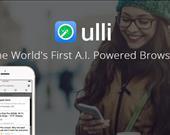 Ulli'nin en önemli özelliği yapay zeka (A.I.) destekli bir tarayıcı olması. Mobil cihazlara yönelik olarak hazırlanan Ulli, kullanıcılarının ihtiyaçlarını tahmin ederek buna yönelik tavsiyeler sunuyor.