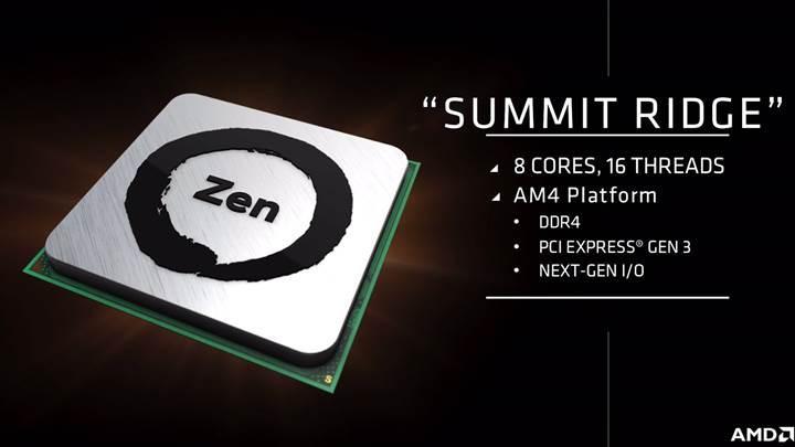 AMD Zen tanıtım ve satış tarihi kesinleşti