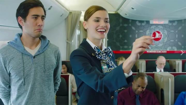 THY'nin yeni reklam yüzü Vine fenomeni Zach King oldu