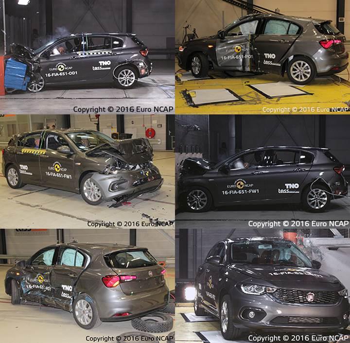 Fiat Egea HB, Euro NCAP'te hayal kırıklığı yarattı