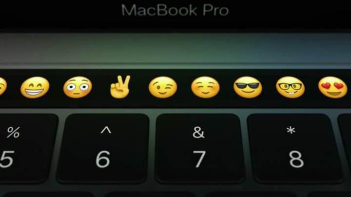 MacBook Pro'daki Touch Bar Samsung üretimi olabilir