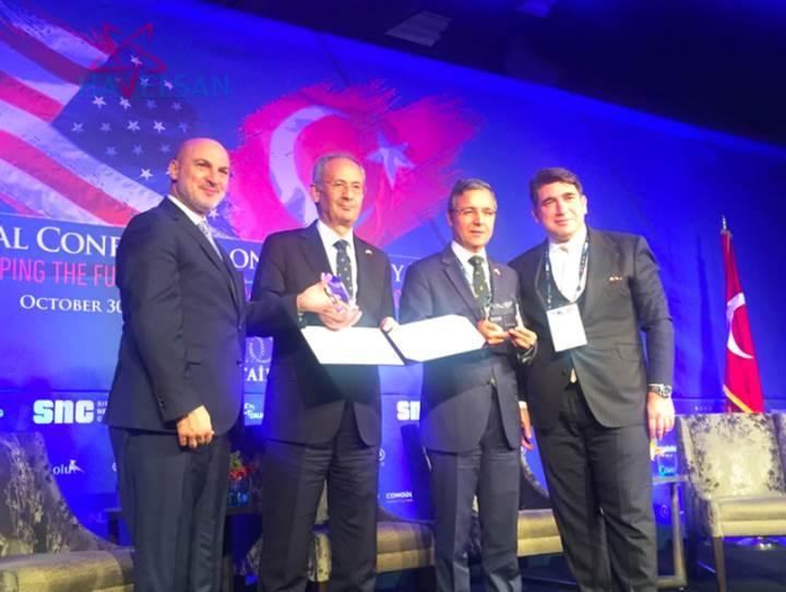 HAVELSAN, '2016 Savunma Sanayi Ödülü'nü kazandı