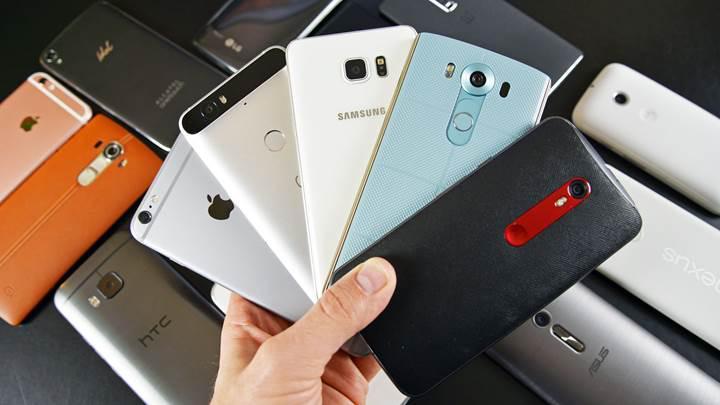 Kullanılan 10 akıllı telefondan 9'u Android olmak üzere